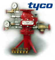 Запорная арматура фирмы tyco